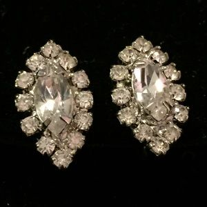 Spectacular Sparkling Rhinestone Earrings